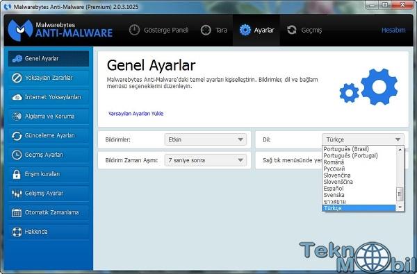 Malwarebytes Anti-Malware Premium Türkçe