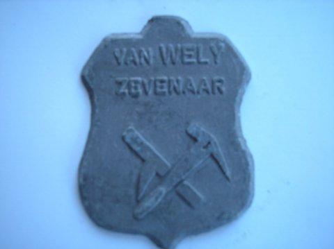 Naam: van WelyPlaats ZevenaarJaartal: 2000