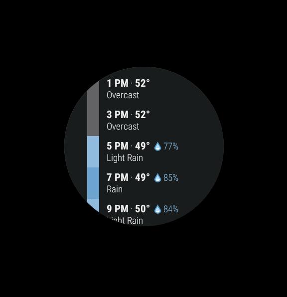 Dark Sky - Hyperlocal Weather screenshots