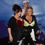 OIC - ENTSIMAGES.COM - Walk the Walk Ambassador Harriet Thorpe and Jennifer Saunders at the The MoonWalk London 16th May 2015 Photo Mobis Photos/OIC 0203 174 1069