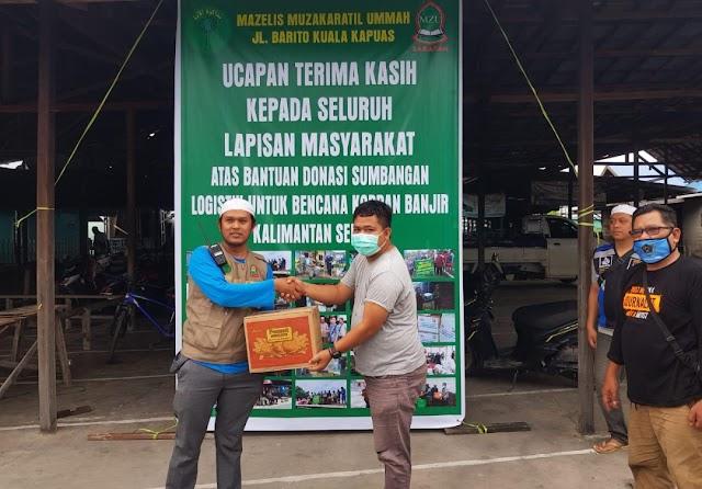 Buka Donasi, Majelis di Kapuas Ini Sudah 50 Kali Kirim Bantuan Korban Banjir Kalsel