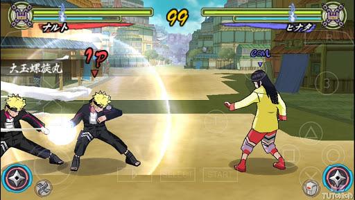 SAIU! NARUTO Ultimate NINJA 5 - ROAD To Boruto (MOD) NARUTO Heroes 3 PARA ANDROID (PPSSPP)