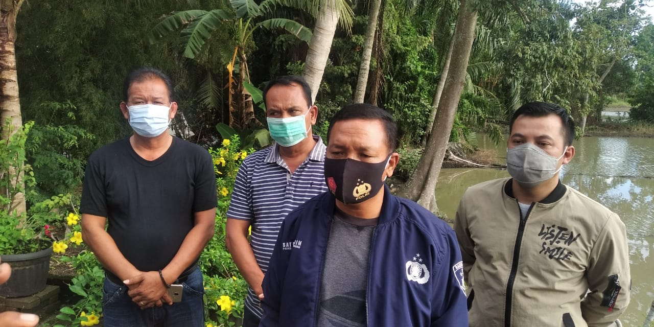 Kapolres Sergai Pimpin Pencarian 8 Tahanan Yang Kabur
