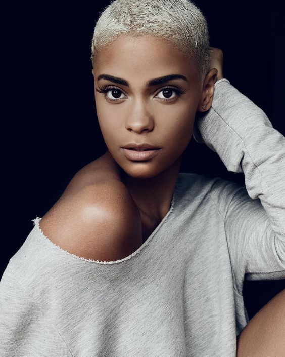 2018 African American Short Boy Cut For Women