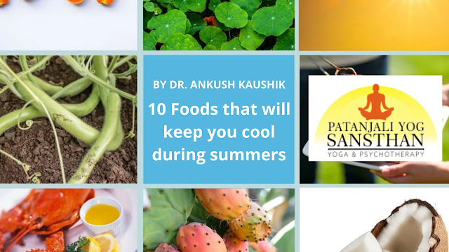 10 Foods that will keep you cool during summers