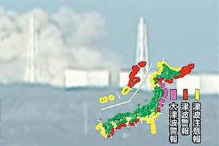 Reactor n1 de la central nuclear de Fukushima Terremoto en Japon