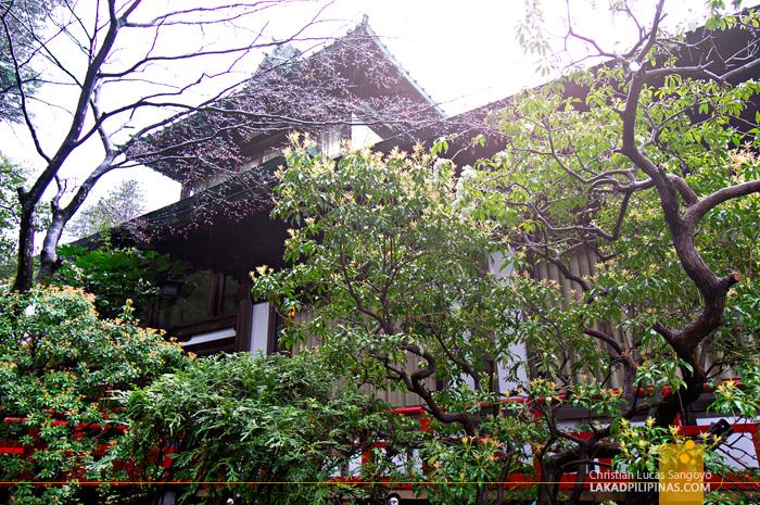 Lush Environment at Hakone's Fujiya Hotel