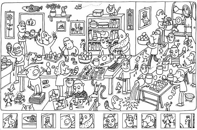 Juegos de imprimir para niños - Imagui