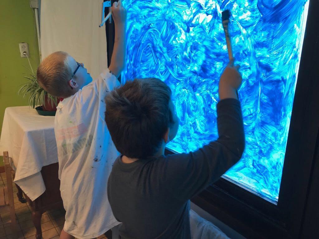 De Knetters maakten een zeeaquarium. - IMG_8784.JPG