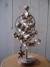 ジュエリーハンガーツリー3D(S) jewelry hanger kumiko tree