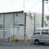 2011年8月8日 三反走(さんだんばしり)の仮設住宅です