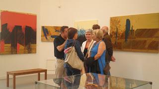 """Inauguración exposición 'Sharing Art from Barcelona"""" 2011-07-15"""