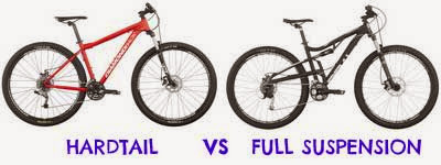 Hardtail vs Full Suspension MTB Comparison