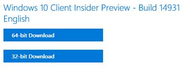 Download the 32-bit or 64-bit version of Windows 10 ISO image (www.kunal-chowdhury.com)