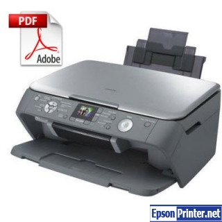 How to reset Epson CX7700 printer