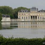 Château du Marais : miroir d'eau