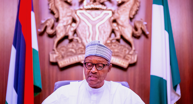#EndSARS: Buhari Addresses Nigerians, Keeps Mute On Lekki Shootings