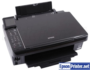 How to reset Epson SX515 with tool