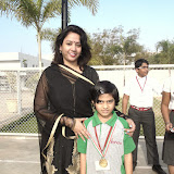 Students who won Medals in Science Olympiad Foundation (SOF) for excelling in Science.