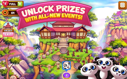 Panda Pop - Bubble Shooter Game. Blast, Shoot Free  mod screenshots 5