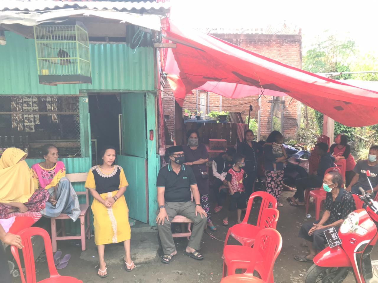 LHD Kunjungi Korban Kebakaran di Sewo