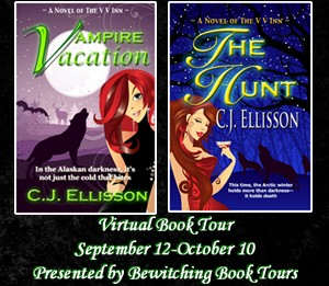 Interview & Giveaway: C.J. Ellisson author of The V V Inn Series