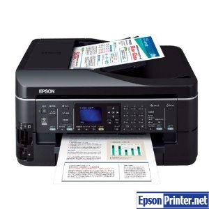 How to reset Epson PX-603F printer