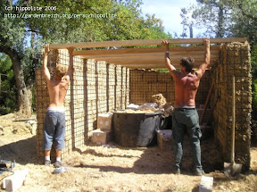 idée : garage végétalisé en sphaigne gassin 2005, sur simple demande, je vous expliquerez l'art et la manière de fabriquer un mur végétal