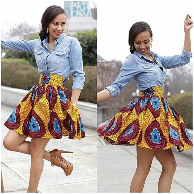 African Print Fashion Dresses 2017 2018