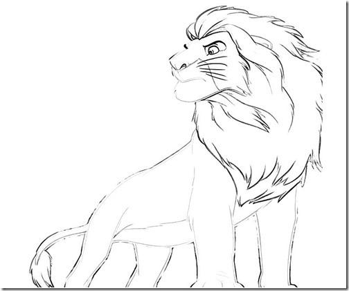 simba rrey leon colorear (4)