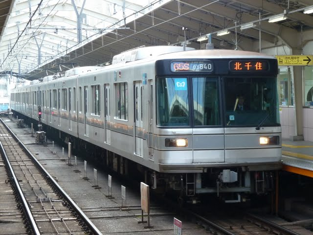 東京メトロ日比谷線 北千住行き1 03系LED