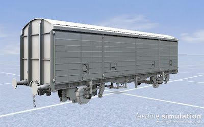 Fastline Simulation: Third VDA van for RailWorks out of the oven.