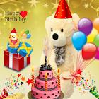 Happy Birthday Photo icon