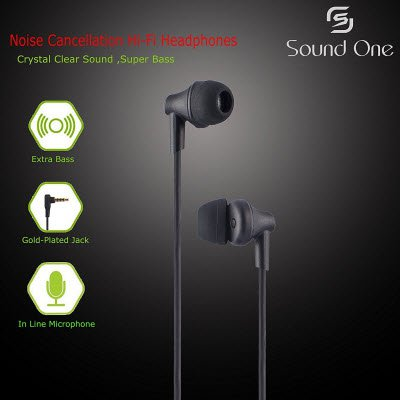 Sound One 616-P In Ear Earphones with MIC Rs.299 – Amazon