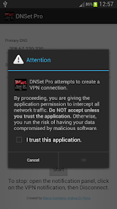 DNSet Pro 1.2 Mod + Data for Android 2