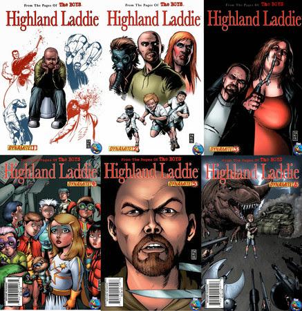 The Boys - Highland Laddie [1-6][C�mic][Espa�ol]