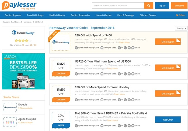 paylesser.homeaway coupon