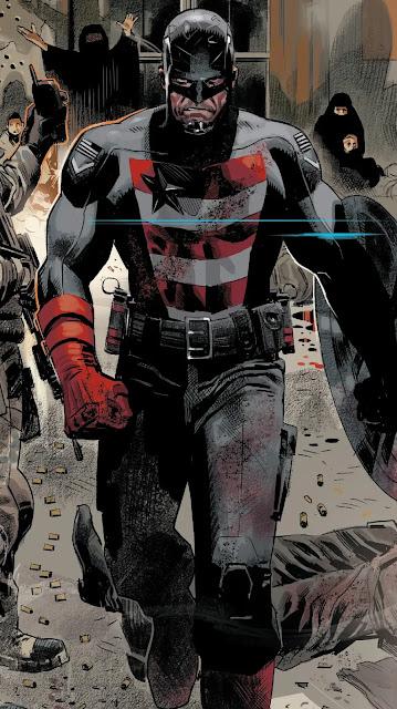 John Walker como Agente Americano