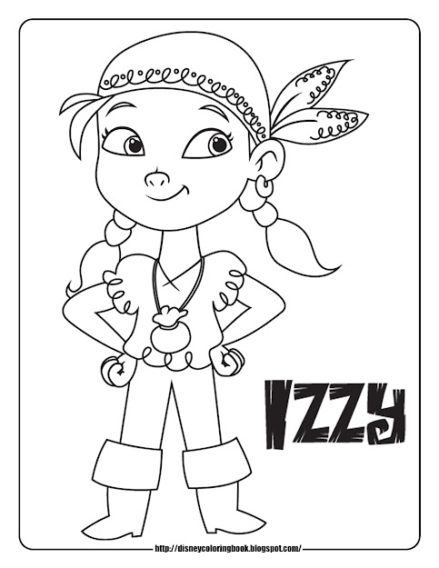 Disney Coloring Pages And Sheets For Kids Jake And The Neverland Pirates   Free