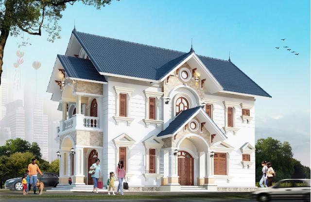 Xem ngay xu hướng 14 mẫu thiết kế biệt thự tân cổ điển năm 2021