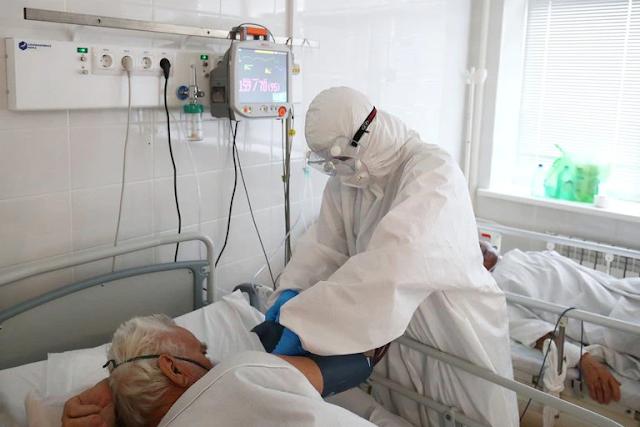 Rusia registró más de 1.100 muertes diarias por coronavirus por primera vez desde el inicio de la pandemia