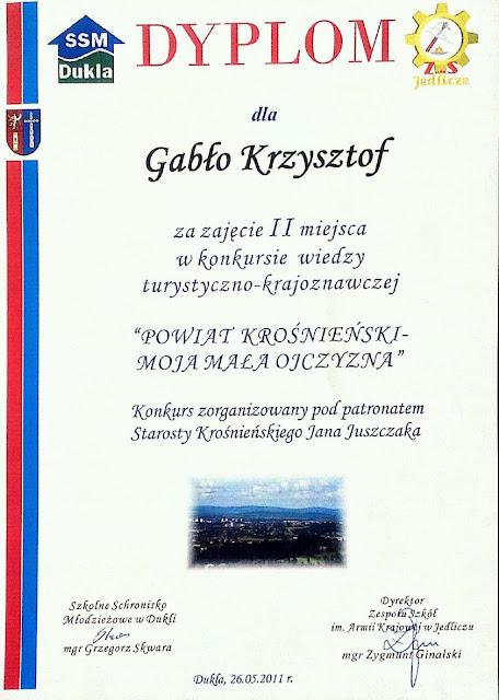 Konkurs Wiedzy Turystyczno - Krajoznawczej - dyplom.jpg
