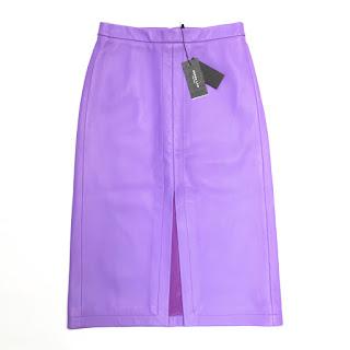 Derek Lam Leather Skirt