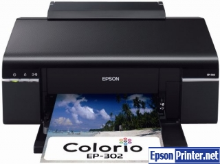 How to reset Epson EP-603A printer