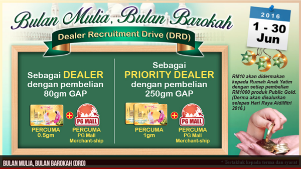 Dealer Recruitment Drive(DRD)