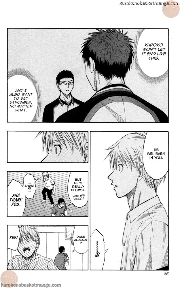 Kuroko no Basket Manga Chapter 56 - Image 18
