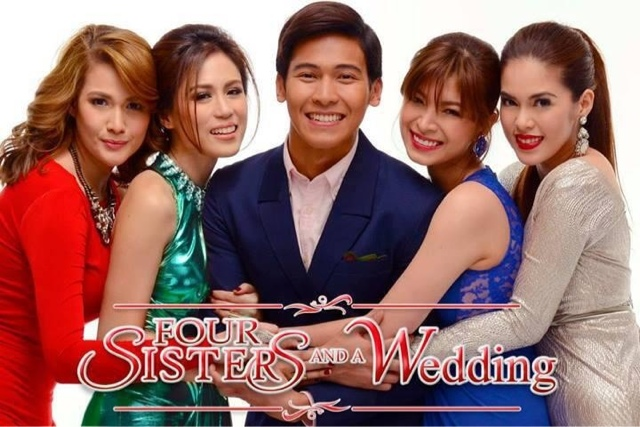 Four Sisters And A Wedding The Kick Off Project Of Star Cinema On Its 20th Anniversary Definitely Kicked Hearts Pinoy Families