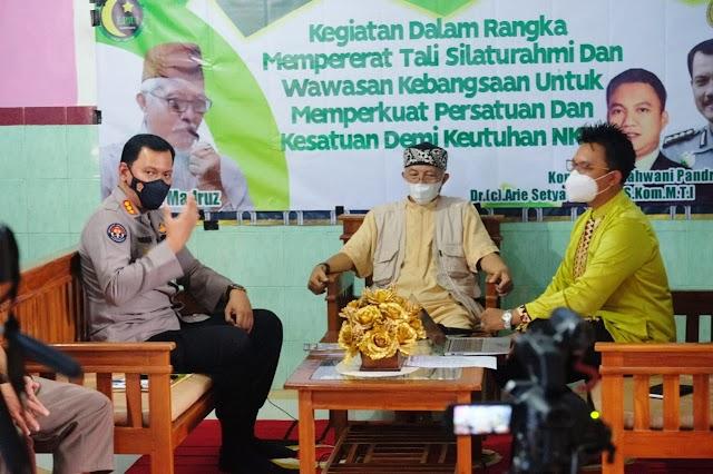 Gelar Diskusi Bersama LP3UI: Polda Lampung ajak Jaga Kebersamaan dan Keutuhan NKRI