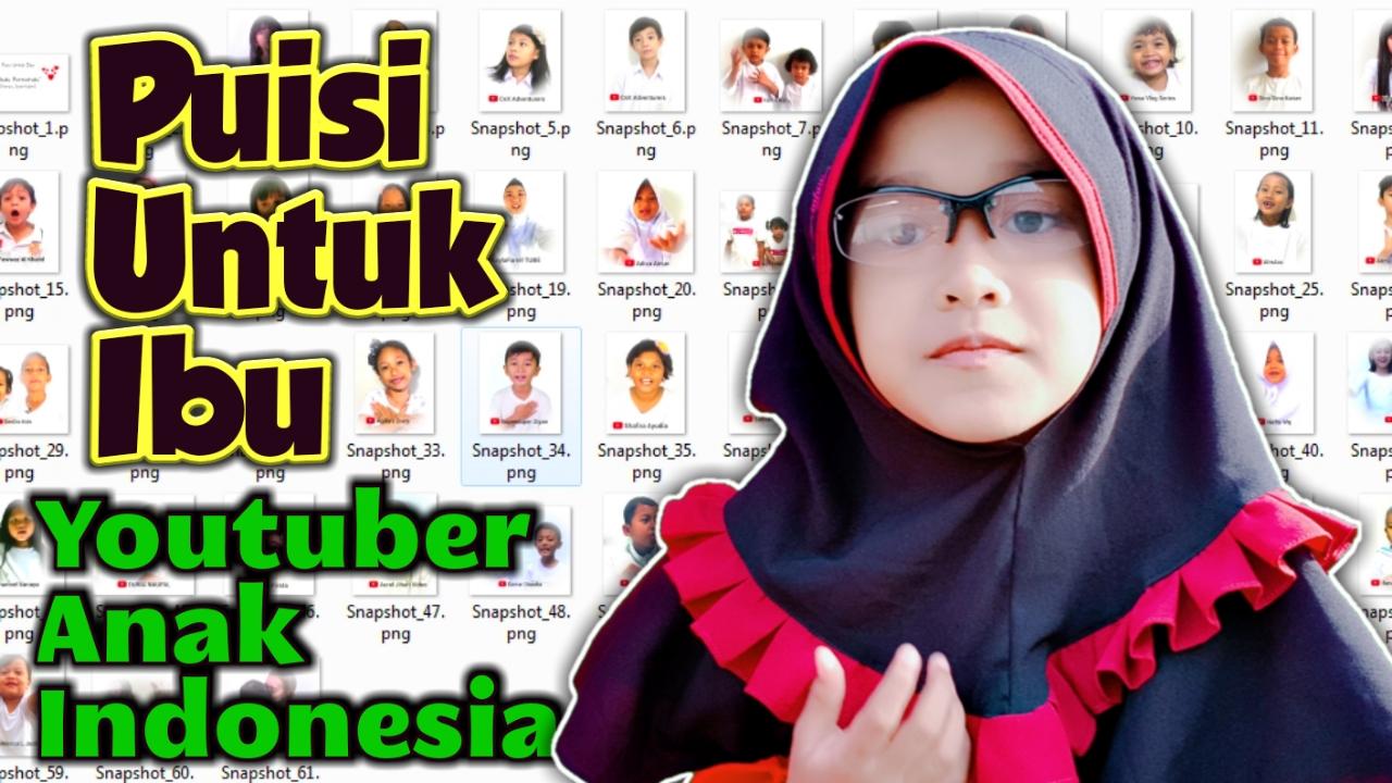 RENUNGAN ( Maaf Ibu ) 😢 Puisi Buat Ibuku Permataku 💗 Selamat Hari Ibu  With Youtuber Anak Indonesia f662915a12