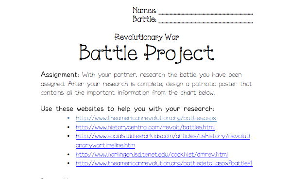 Site for 5th grade social studies homework help battles